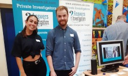 Dorking Private Detective Ashcombe School careers fair