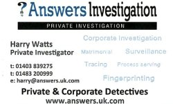 Harry Watts Contact Details