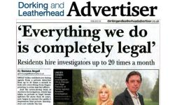 Dorking Advertiser private Investigator
