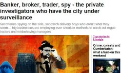 Private Investigators have city under surveillance Evening Standard