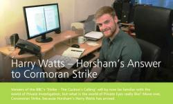 Horsham District Post Harry watts  Private Investigator