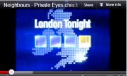ITN London News Private Detective