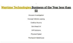 SME Business Awards Finalists