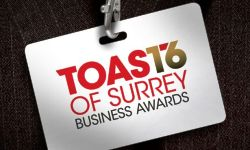 Toast of Surrey Business Awards Finalists Apprentice Scheme of the Year