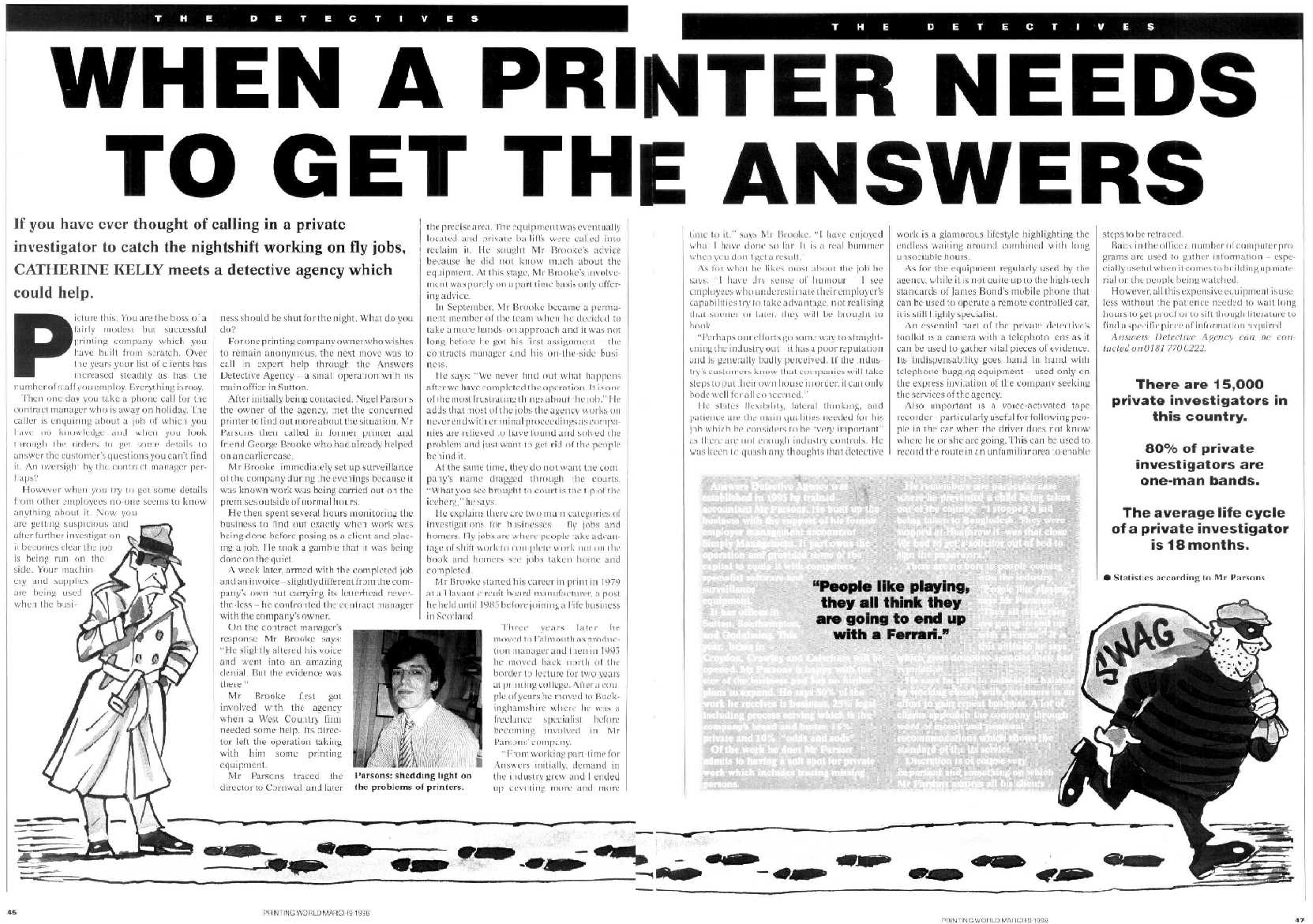 Investigation into the print industry